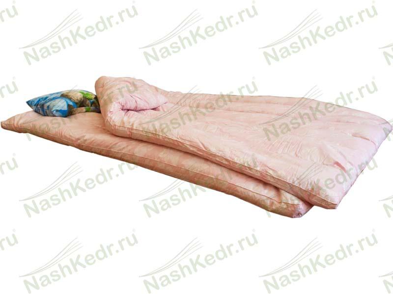 Подушки и матрасы с наполнителем из кедровой стружки