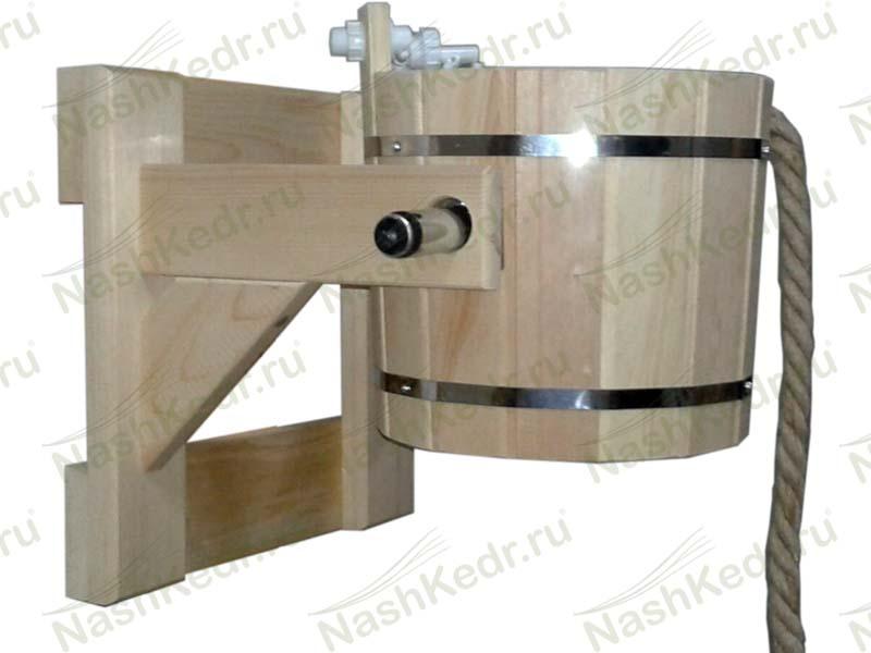 Оборудование для бани из сибирского кедра