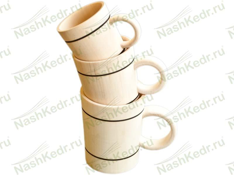 Посуда из Алтайского кедра