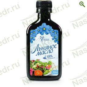 Пищевые масла - Льняное масло (Алтайский букет) - купить по цене производителя - магазин Наш Кедр