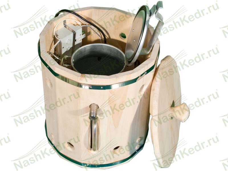 Оптимальный парогенератор для кедровой бочки