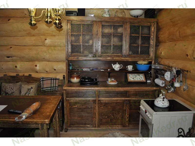 Мебель из массива сибирского кедра
