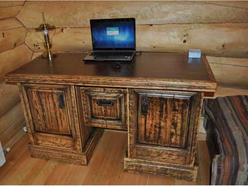 Стол письменный под старину