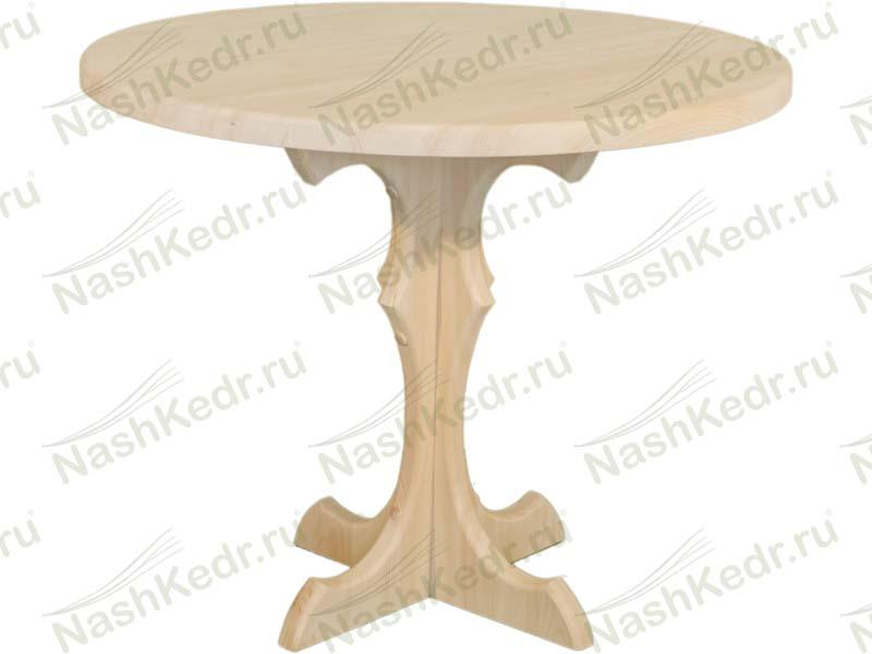 Как сделать деревянный круглый стол своими руками