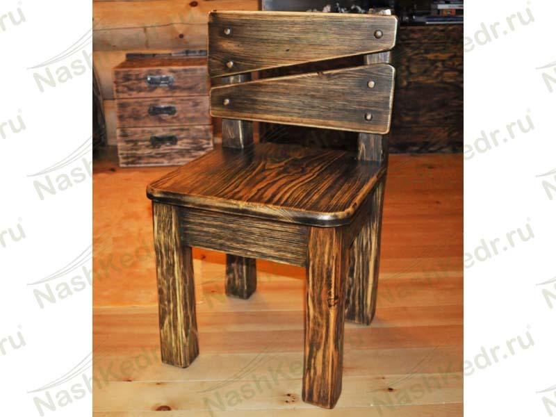 Деревянный стул кресло чертежи