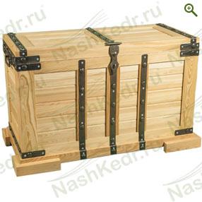 Сундук из лиственницы мебель из